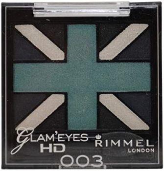 Rimmel Glam Eyes HD Quad Eye Shadow - 003 Royal Blue