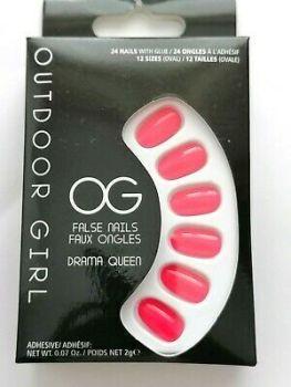 Outdoor Girl False Nails - Drama Queen