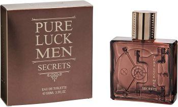Linn Young Pure Luck Men Secrets Eau de Toilette for Men 100 ml