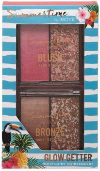 Technic Summertime Glow Getter Shimmering Bronzer & Blusher Duo Palette Set