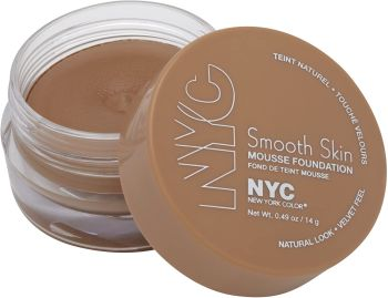 NYC Smooth Skin Mousse Foundation - 703 Sand Beige (2 pack)