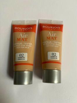 Bourjois Air Mat Mini Foundation (2 pack) - Vanilla