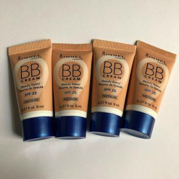 Rimmel BB Cream Beauty Balm Mini 8ml each - Medium (4 pack)