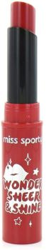 Miss Sporty Sheer Shine Lipstick Tinged Red 400