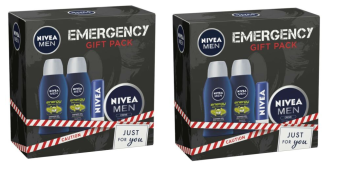 Nivea Men Emergency Mini Gift Pack (2 Pack)
