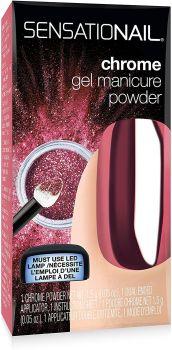Nailene Sensationail Chrome Gel Manicure Powder - Rose