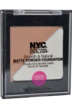 Nyc Smooth & Natural Powder Foundation - 733u Metro Tan