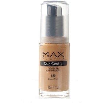 Max Factor Color Genius Foundation With Minerals Shade: 630 Honey No 3