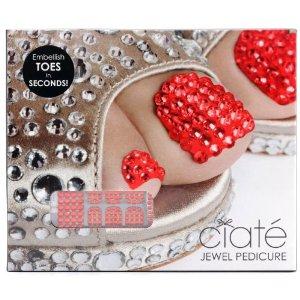 Ciate Jewel Pedicure - Ruby Slippers