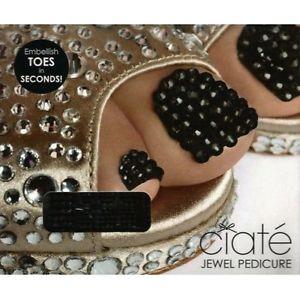 Ciate Jewel Pedicure - Black Magic