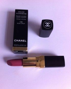 Chanel Rouge Hydrabase Creme Lipstick - 136 Rose Drop