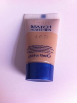 Rimmel Match Perfection Foundation - 103 (2 Pack)