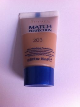 Rimmel Match Perfection Foundation - 203 (2 Pack)