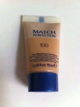 Rimmel Match Perfection Foundation - 100 (2 Pack)