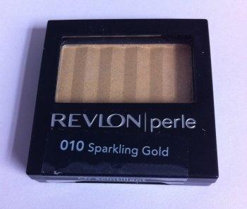 Revlon Perle Luxurious Colour  Eyeshadow - 010 Sparkling Gold