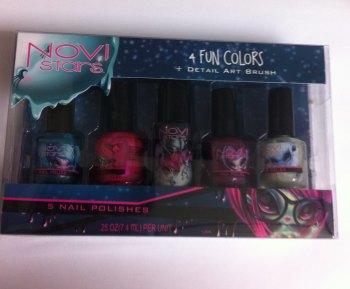 Novi Stars Fun Colors Nail Polish Gift Set