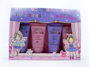 Grace Cole Glitter Fairies Ballet School Girls Gift Set