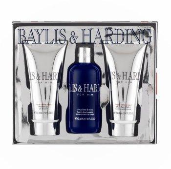 Baylis & Harding Citrus Lime and Mint 3-Piece Gift Set
