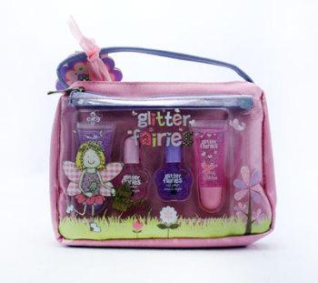 Grace Cole Glitter Fairies Lipgloss & Nail Polish Girls Gift Set