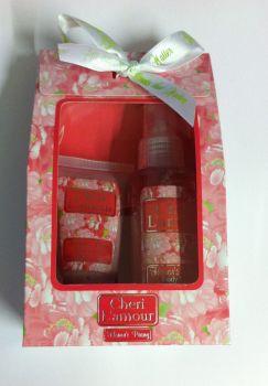 Cheri L'amour Honors Peony Body Lotion & Body Mist Gift Set