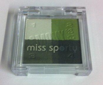 Miss Sporty Smokey Eyes Shadows - 404 For Black Eyes