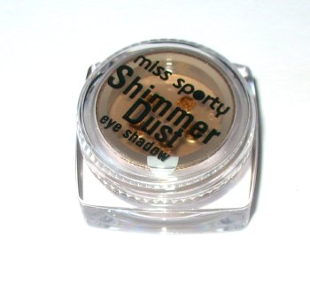 Miss Sporty by Coty Shimmer Dust Loose Powder Eyeshadow ~ 009 Allure ~ Mid Golden Brown Eye Shadow