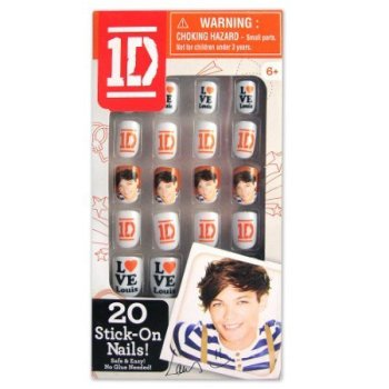 One Direction 2D Stick-On Nails - Louis
