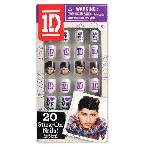 One Direction 2D Stick-On Nails - Zayn