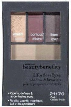 Wet n Wild Beauty Benefits Effortless Eyeshadow and Brow Kit - 21170