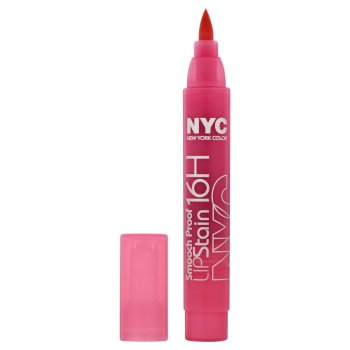 NYC Smooch Proof 16 Hour Lip Stain - Persistent Pink