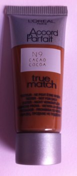 L'oreal Accord Parfait True Match Foundation - Cocoa (2 Pack)