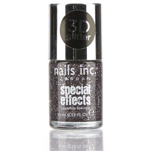 Nails Inc London Special Effects 3d Glitter Nail Polish - Sloane Square