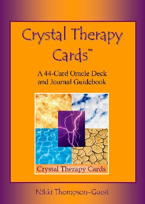 Crystal Therapy Cards Oracle Card Deck with Journal Booklet