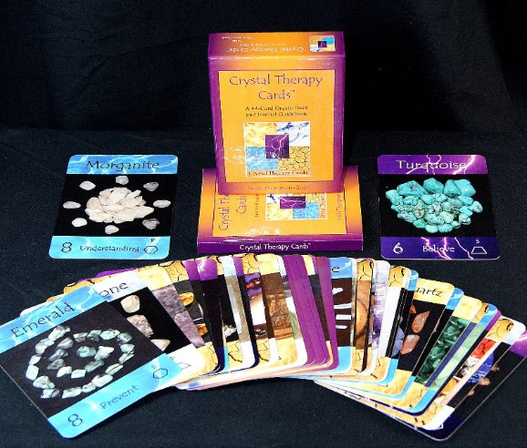crystal therapy cards image