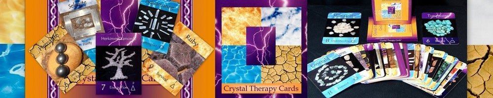 www.crystaltherapycards.com, site logo.