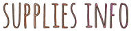 supplies info graphic june 15 © cinnamon jewellery
