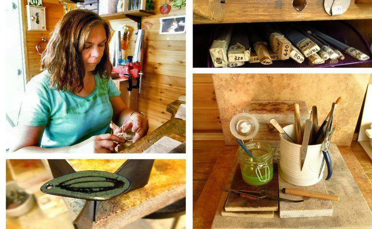 Behind the scenes Cinnamon Jewellery