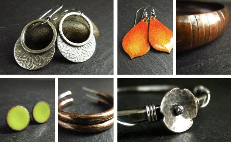 cinnamon jewellery handmade earrings and bangles