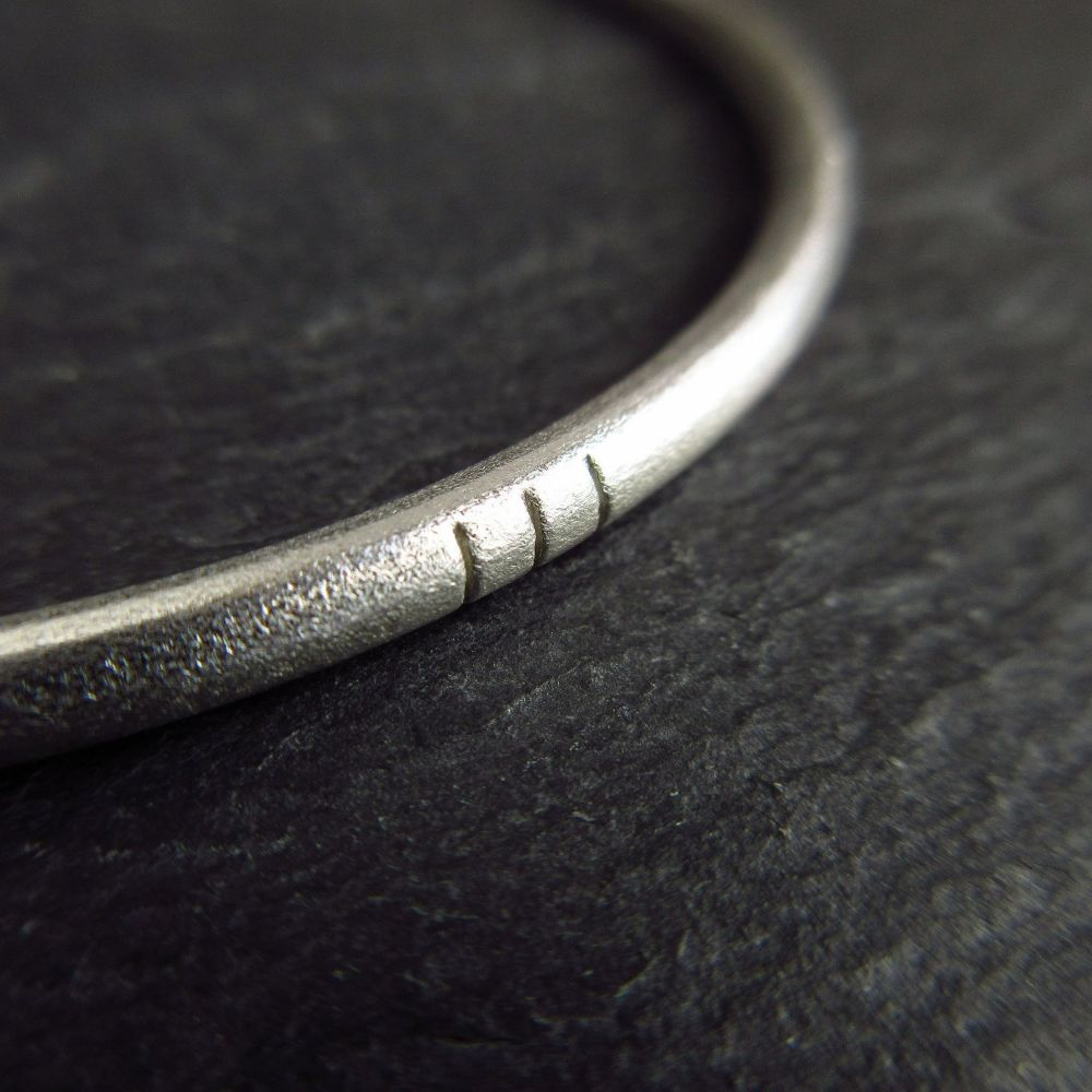 <!--02--> Sterling Silver Bangles