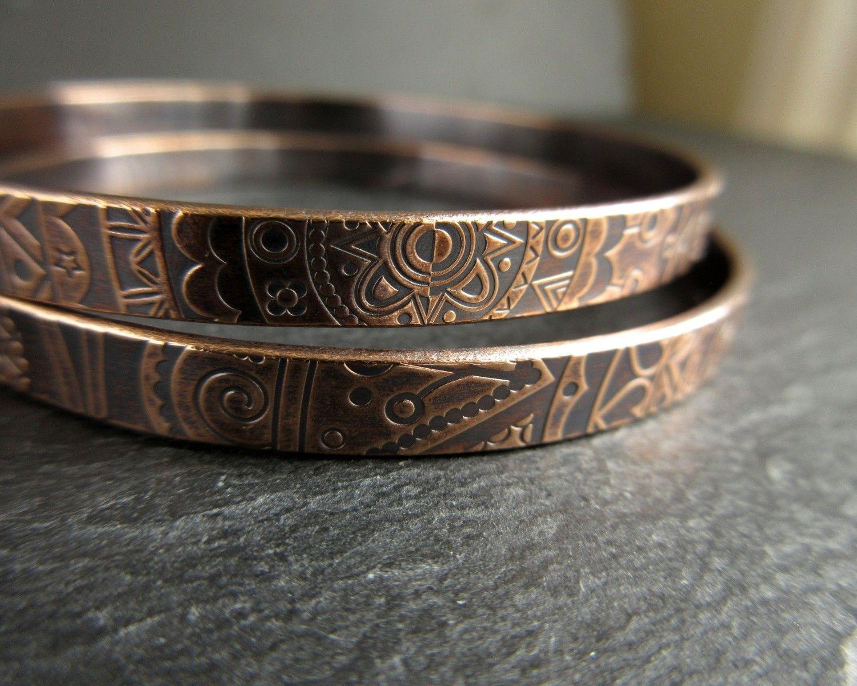 handmade real bronze banglesDefault image