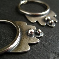 <!-- 0001 -->Sterling Silver Earrings