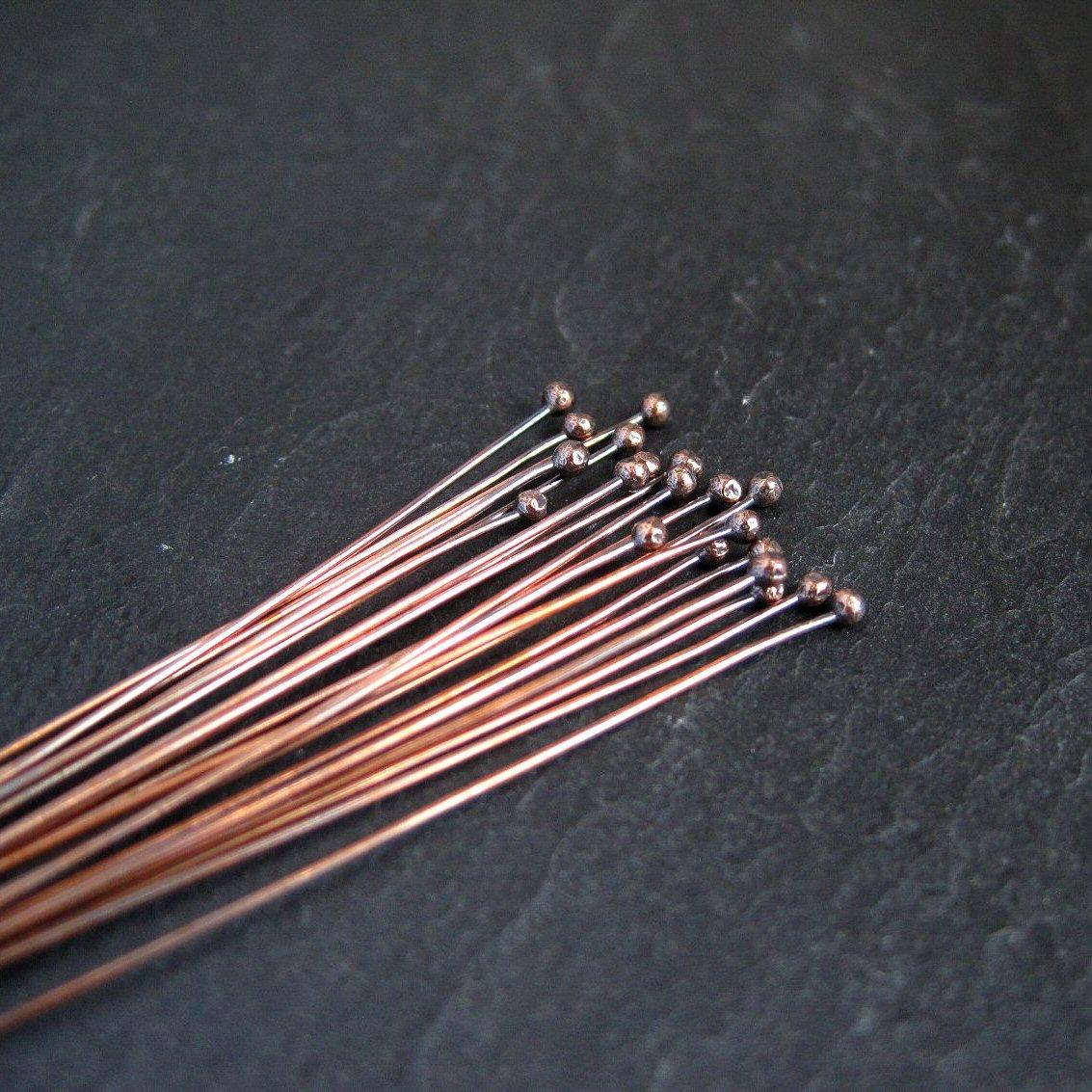 Ball Copper Headpins 114