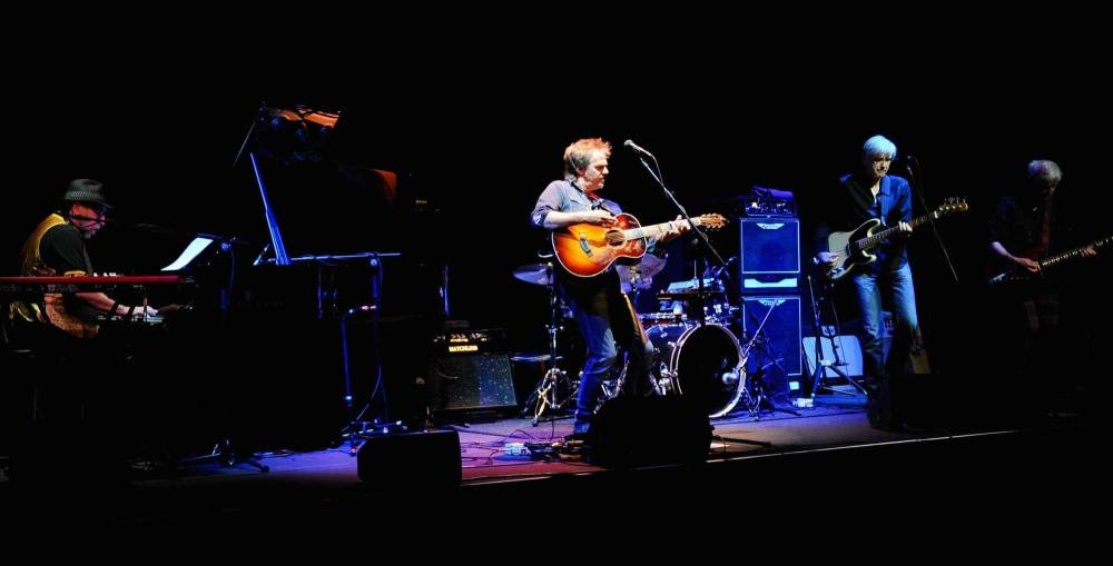 Jack Henderson previewing new album This Daring Light live at Kings Hall Lo
