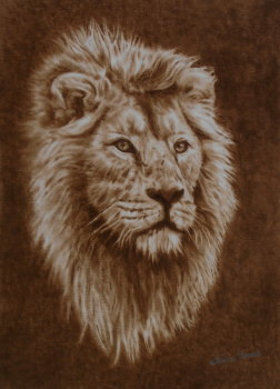 (W111A) His Majesty (unframed original)