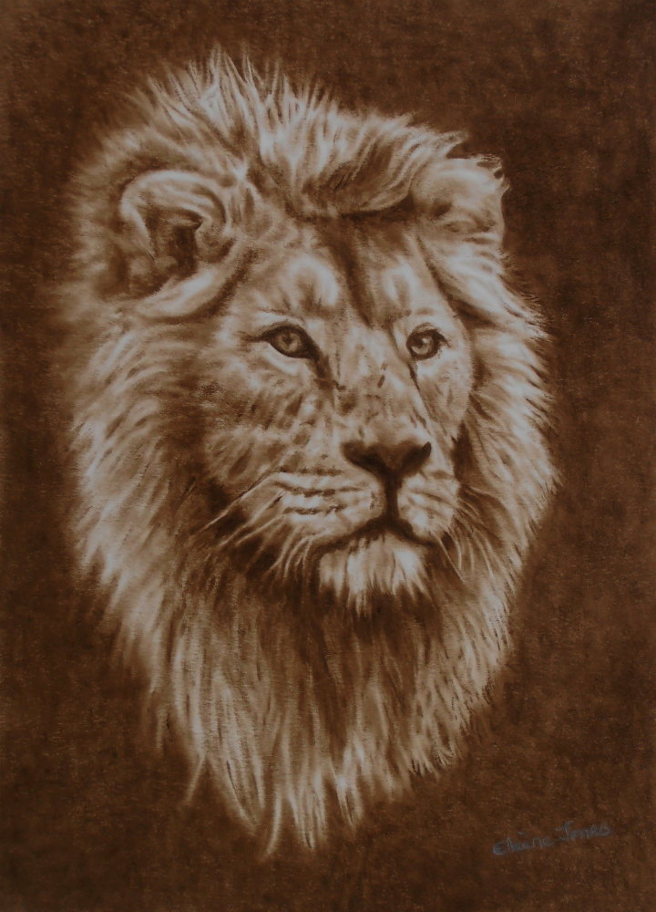 (W109A) His Majesty (unframed original)