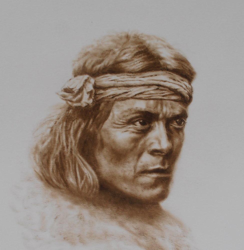 (W107) Zuni Portrait