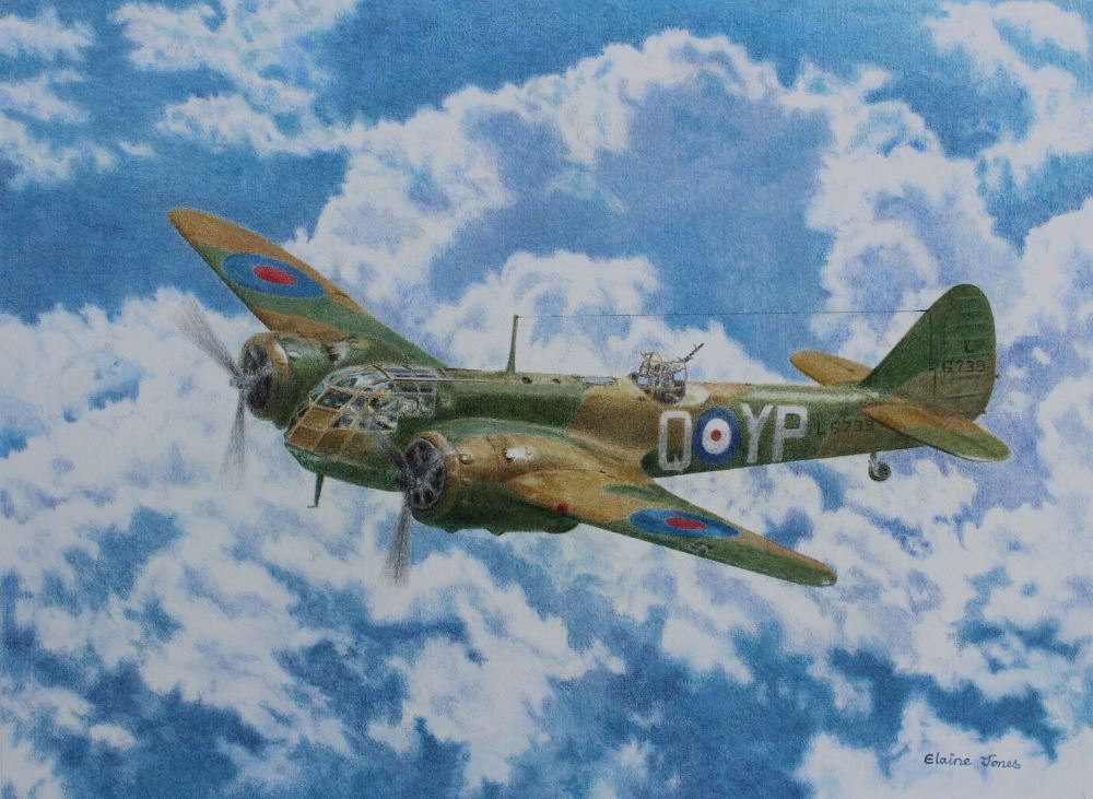bristol blenheim by elaine jones