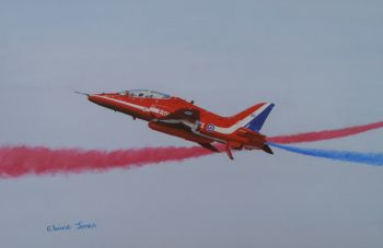 (A109B) Red Arrow - One of a Pair (Print)