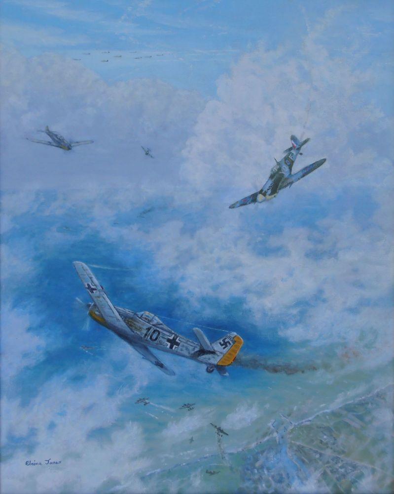 (A103C)    Dogfight Over Dieppe, 19 August 1942