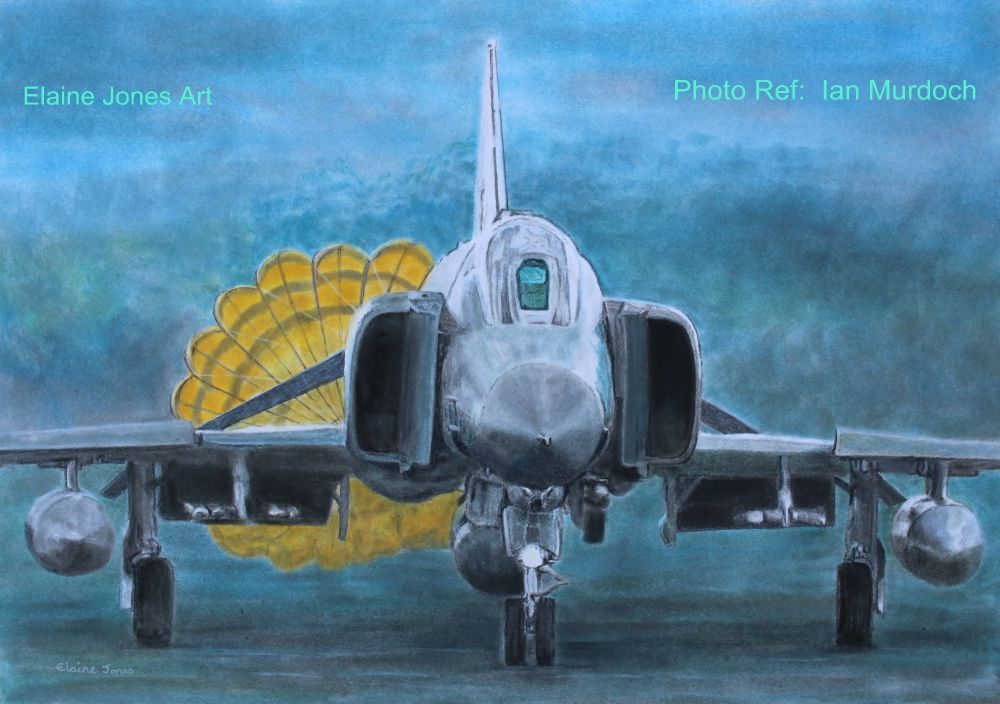 (A119C) F4 Phantom Landing